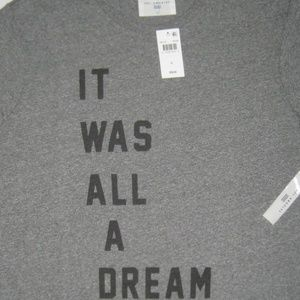 Sol Angeles Shirts - Sol Angeles All A Dream Tee Gray Graphic T-Shirt